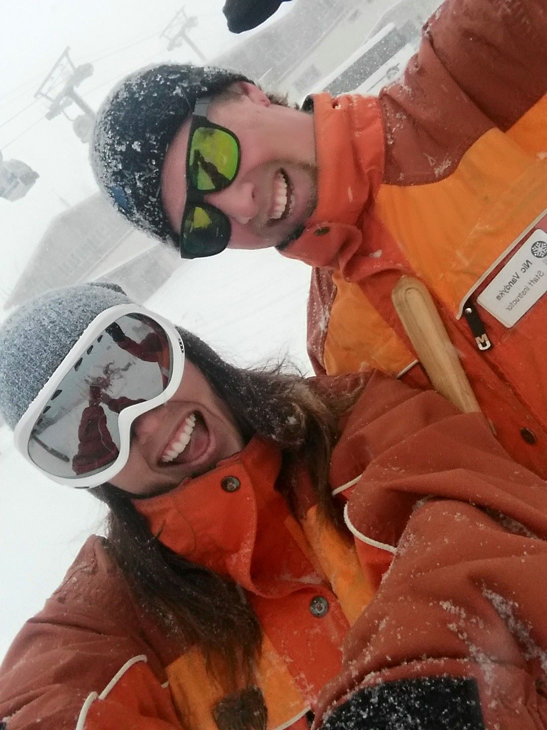 DSES Staff Instructors Emily Estremo and Nic Vandyke both achieved certifications this past winter!