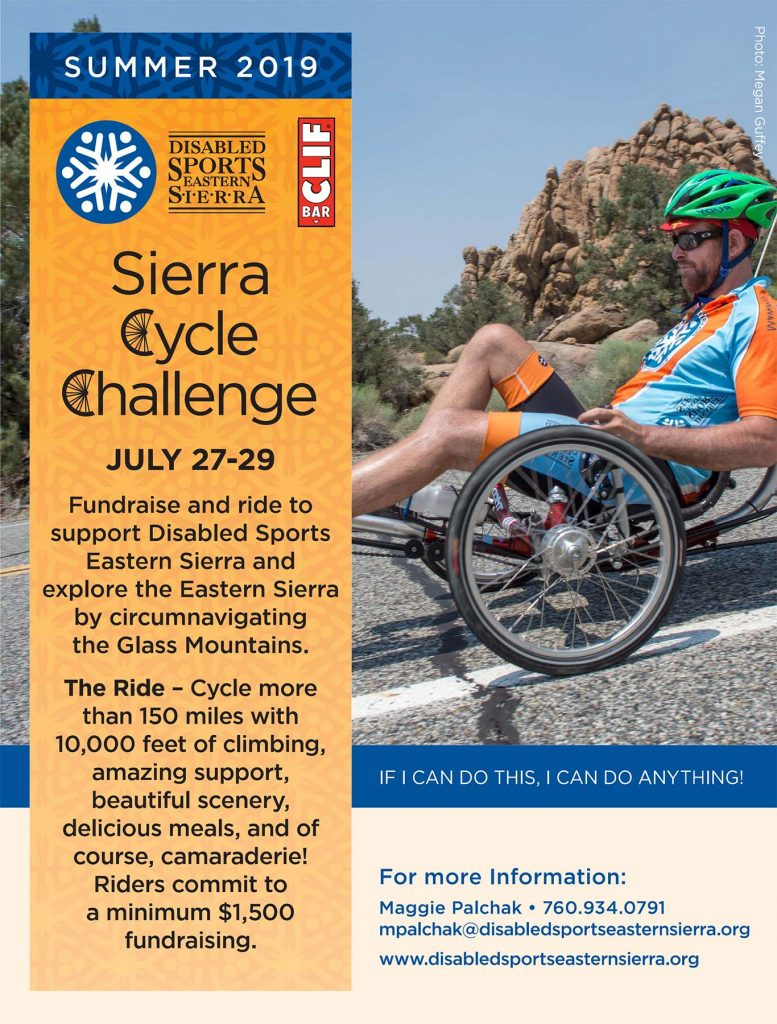 Sierra Cycle Challenge Flyer