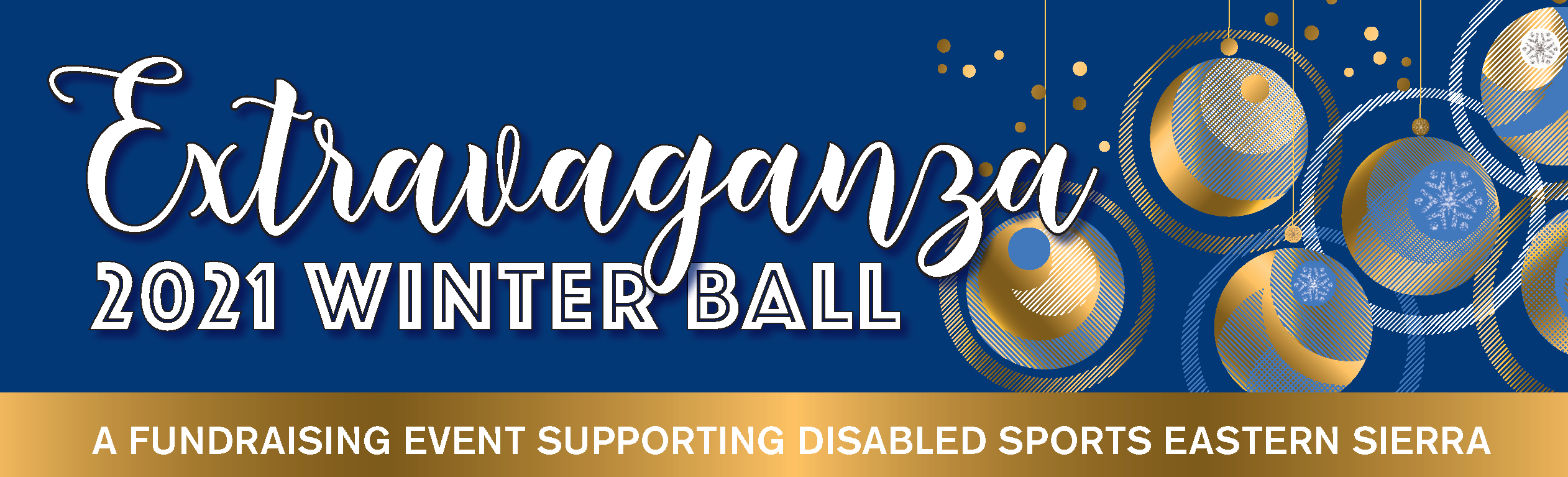 EXTRAVAGANZA 2021 Winter Ball - A fundraising event supporting Disabled Sports Eastern Sierra